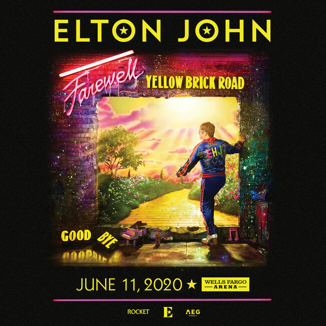 Elton John - Farewell Yellow Brick Road Tour - June 11, 2020