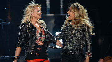Music News - Miranda Lambert Boosts Carrie Underwood For CMA Entertainer Of The Year