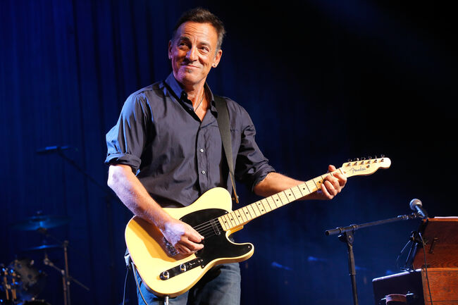 New Contest Gives Fan Chance To Hang Out With Bruce Springsteen