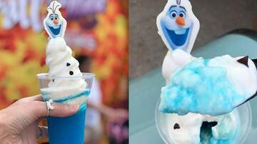 Suzette - Disney Is Selling Blue Dole Whip That Looks like Olaf From 'Frozen'