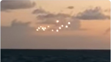 BC - Video Of 'UFO' Spotted Over North Carolina's Outer Banks Goes Viral