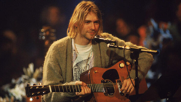 Kurt Cobain's 'MTV Unplugged' Sweater Goes For Record $334,000 At Auction | iHeartRadio