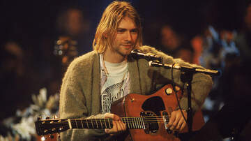 image for Kurt Cobain's 'MTV Unplugged' Sweater Goes For Record $334,000 At Auction