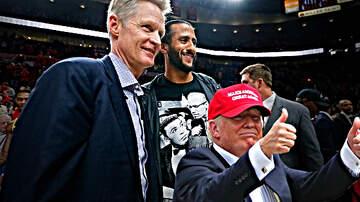 The Locker Room - Donald Trump Calls Steve Kerr a 'Scared Little Boy' For Weak China Response
