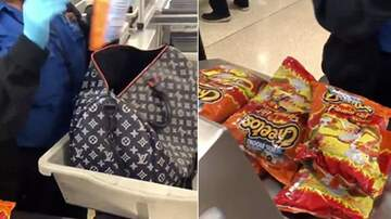 Reid - Airport Security Stopped Woman Who Had 'Like 20' Bags Of Hot Cheetos