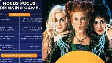 Reid - There Is Now A 'Hocus Pocus' Drinking Game & I've Been Waiting For This