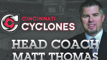 Lance McAlister - Podcast: Cincinnati Cyclones coach Matt Thomas