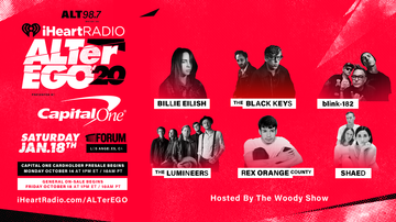 ALT Articles - ALT 98.7 Brings You iHeartRadio ALTer EGO With Billie Eilish and More!