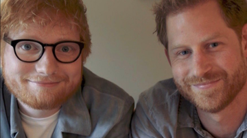 Entertainment News - Gingers Prince Harry, Ed Sheeran Drop Comedic World Mental Health Day PSA