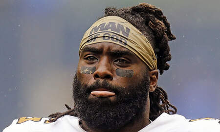 Sports Top Stories - Saints Linebacker Demario Davis Won't Be Fined For 'Man Of God' Headband