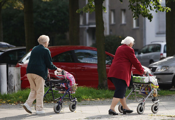 German Elderly Population Growing
