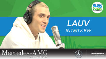 Elvis Duran - Lauv Talks Working With Microsoft To Connect His Fans