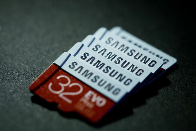Samsung MicroSD Cards And Memory Modules Ahead of Results