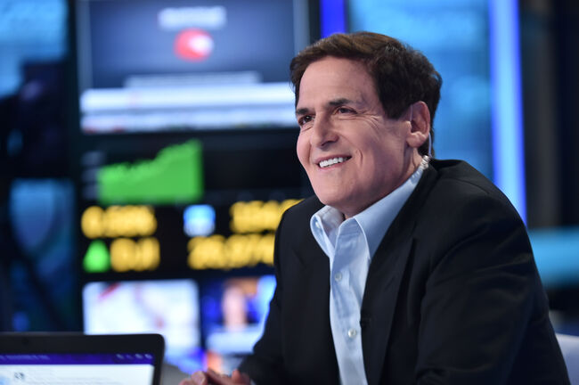 "Mark Cuban Visits ""Cavuto: Coast To Coast"""