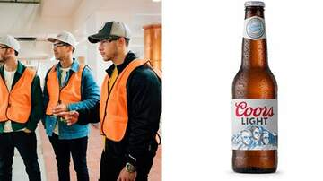 Suzette - Jonas Brothers Are Releasing Their Own Limited Edition Coors Light Bottle