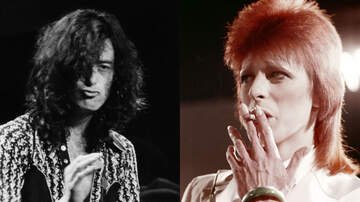 Ken Dashow - That Time Jimmy Page Tried To Communicate Telepathically With David Bowie
