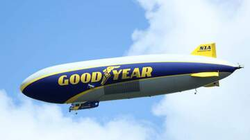 Theresa Lucas - You Could Spend The Night on the Goodyear Blimp