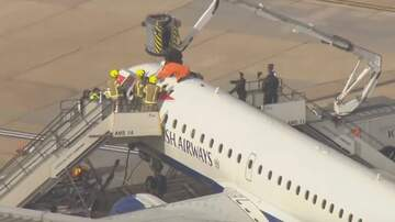 Aviation Blog - Jay Ratliff - Climate Protester Detained for Climbing on Plane in London