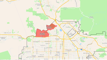 Local News - Fire Burning in Granada Hills, Porter Ranch, Sylmar Blackens 4,600 Acres