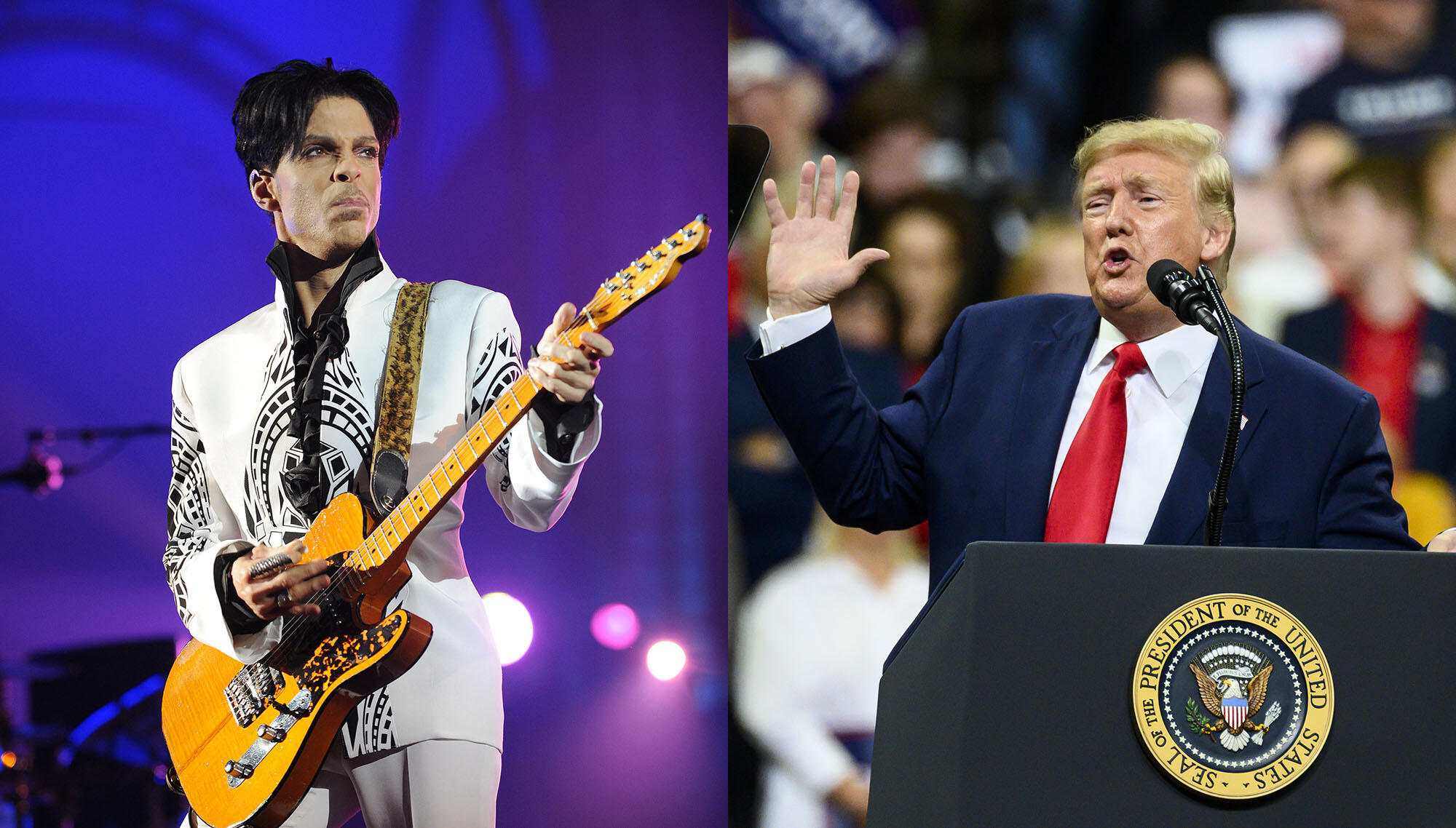 Prince's Estate Calls Out Trump For Breaking Promise To Not Play His Music