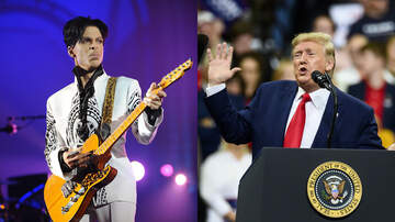 Entertainment - Prince's Estate Calls Out Trump For Breaking Promise To Not Play His Music