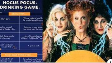 Tige and Daniel - Play The 'Hocus Pocus' Drinking Game