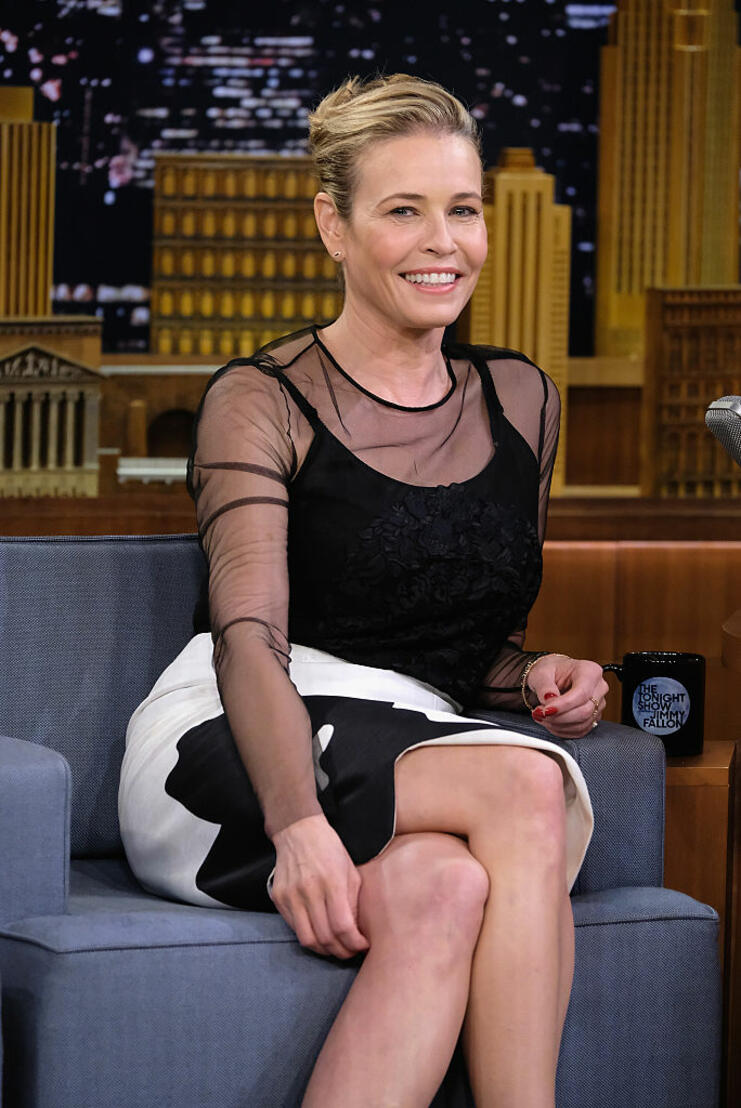 """Chelsea Handler Visits """"The Tonight Show Starring Jimmy Fallon"""""""