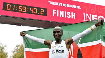 National News - Eliud Kipchoge Becomes First Person to Run a Marathon In Under 2 Hours