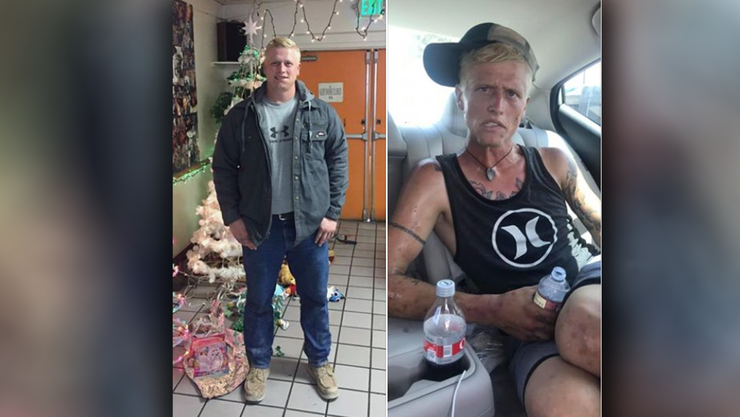 Mother Shares Heartbreaking Photos of Son Addicted to Meth and Heroin | iHeartRadio