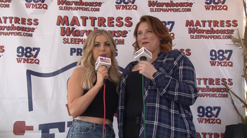 WMZQ Fall Fest - October 12, 2019 - Lindsay Ell Interview at Mattress Warehouse Presents WMZQ Fall Fest 2019