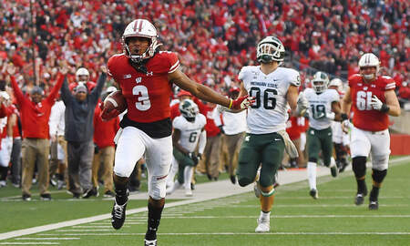 Wisconsin Badgers - Video Highlights: Wisconsin 38, Michigan State 0