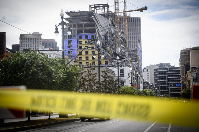 US-HOTEL-CONSTRUCTION-ACCIDENT