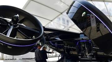 Zach Boog - Uber is about to release flying Taxi's!