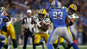 Packers - Aaron Jones will see plenty of action vs. Detroit tonight