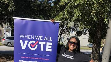 Ambie Renee - When We All Vote, Voter Registration Block Party in Newport News