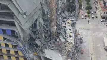 National News - Crane Collapse At Hard Rock Hotel Leaves 2 People Dead