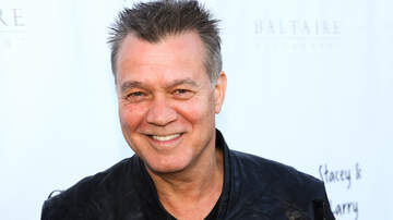 Entertainment News - Eddie Van Halen Reportedly Undergoing Throat Cancer Treatment In Germany