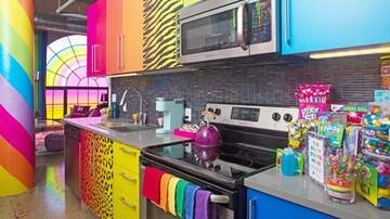 Suzette - You Can Stay In A Lisa Frank Hotel Room That Has Your Favorite 90's Snacks