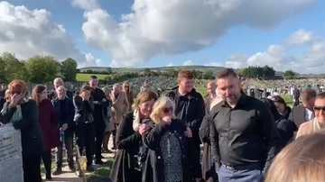 Trending - Funeral Video Goes Viral Due To Dead Man's Hysterical Pre-Recorded Message