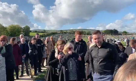 Entertainment News - Funeral Video Goes Viral Due To Dead Man's Hysterical Pre-Recorded Message