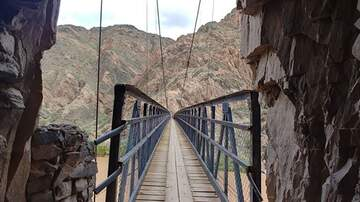 #iHeartPhoenix - There Is A 440-Foot Suspension Bridge On South Kaibab Trail
