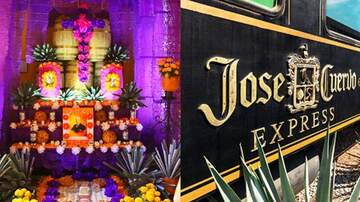 Suzette - Jose Cuervo Tequila Train Hosting A Special Day Of The Dead Train Ride