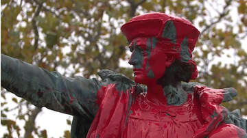 National News - Christopher Columbus Statues Vandalized In California And Rhode Island