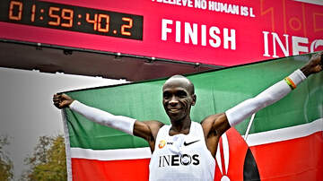 The Locker Room - Greatest Runner Ever? Eliud Kipchoge Runs First Ever Sub-Two Hour Marathon