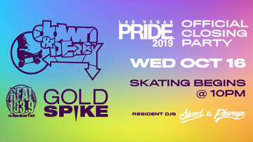 Buzzing Vegas - Down & Derby Skate Party at Gold Spike