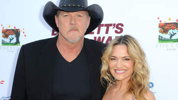 iHeartRadio Music News - Blake Shelton Officiates Trace Adkins + Victoria Pratt's Wedding