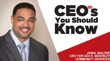 CEO's You Should Know - Jamal Malone; CEO for Ada S. McKinley Community Services.