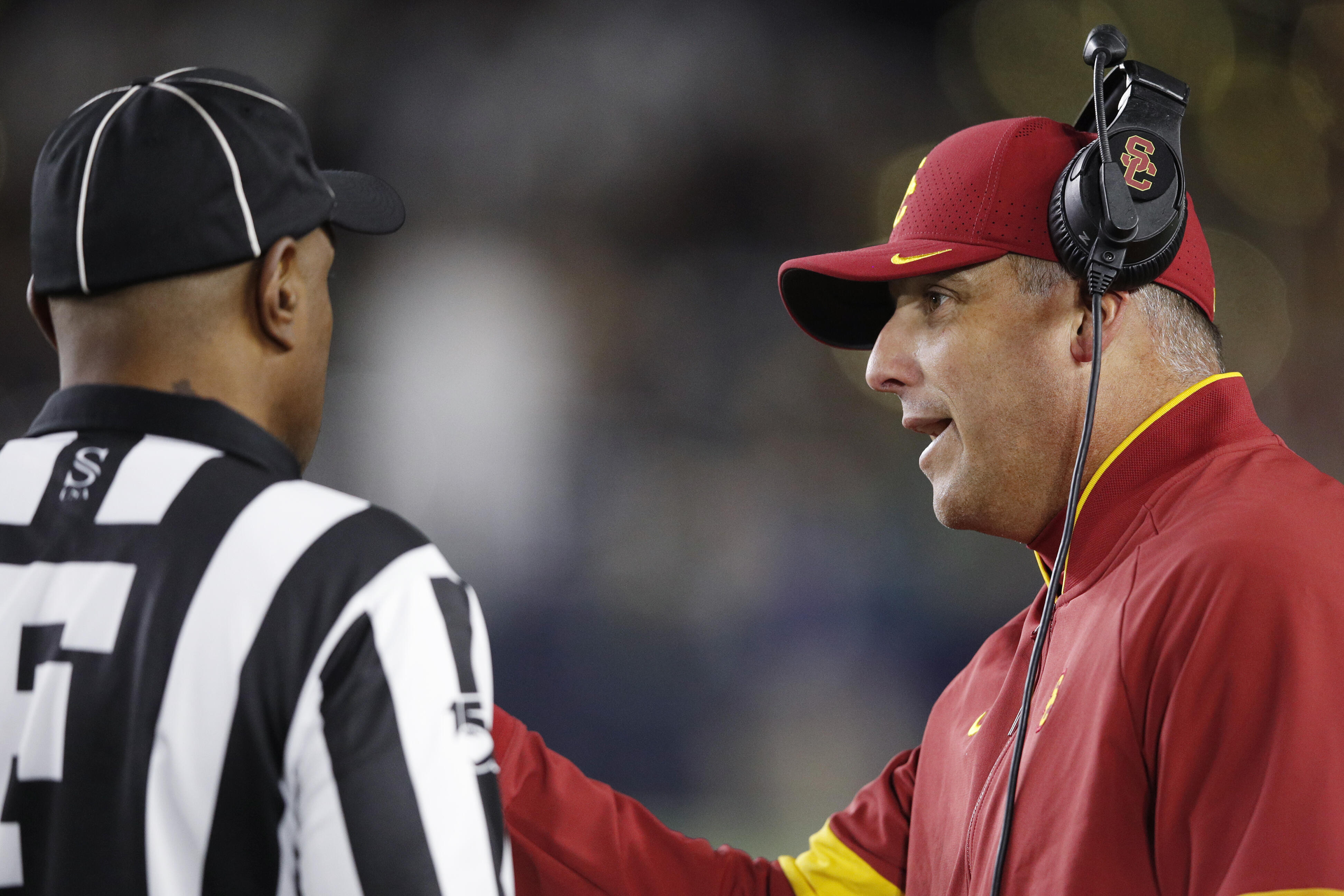 Petros And Money On USC's Loss Vs. Notre Dame And Clay Helton