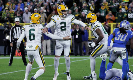 Packers - Highlights: Packers improve to 5-1 after 23-22 win over Lions