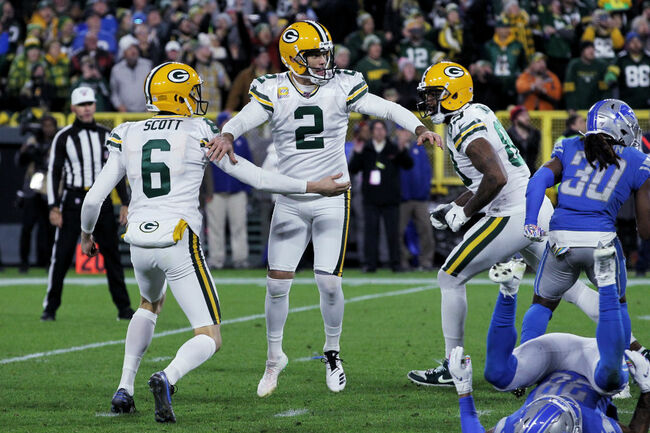 Highlights: Packers improve to 5-1 after 23-22 win over Lions